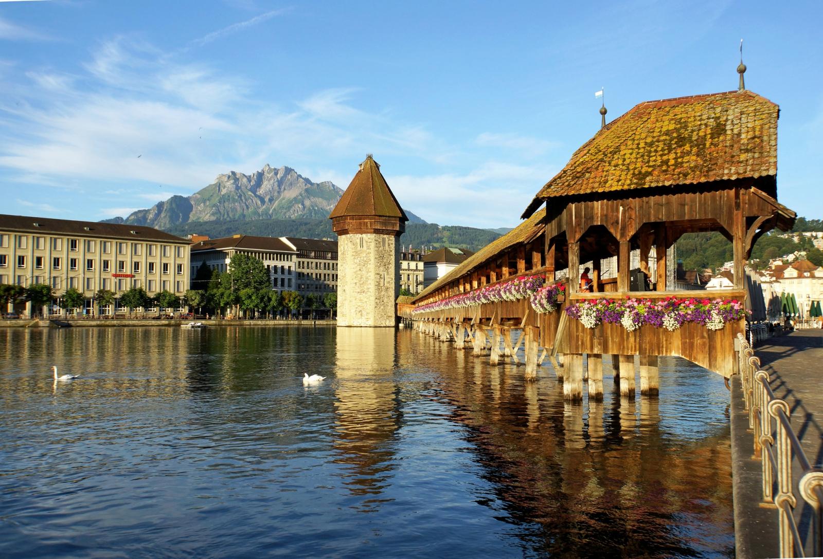 Du lịch Thụy Sĩ - Lucerne