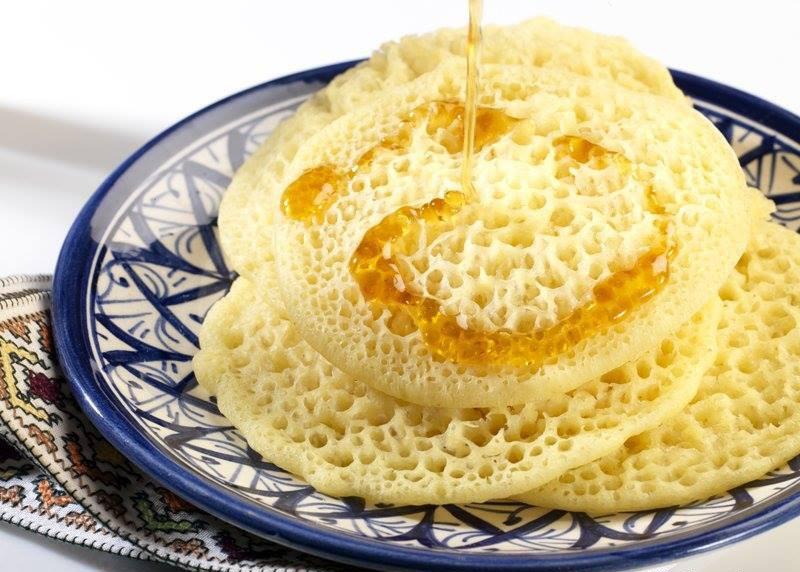 Maroc - Bánh ngọt Baghrir
