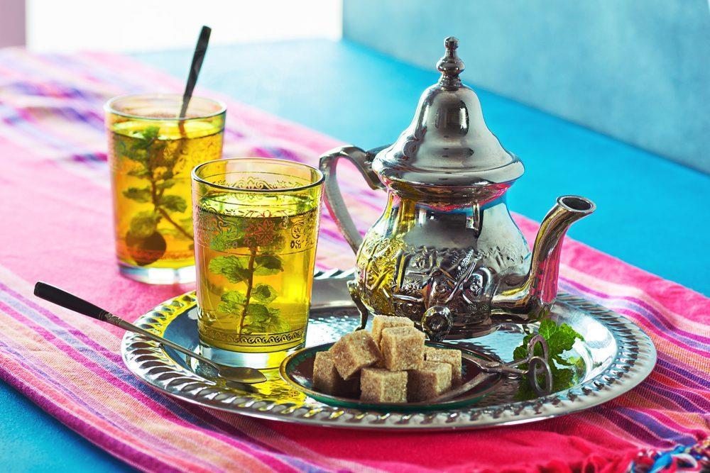 Du lịch Maroc - Trà bạc hà