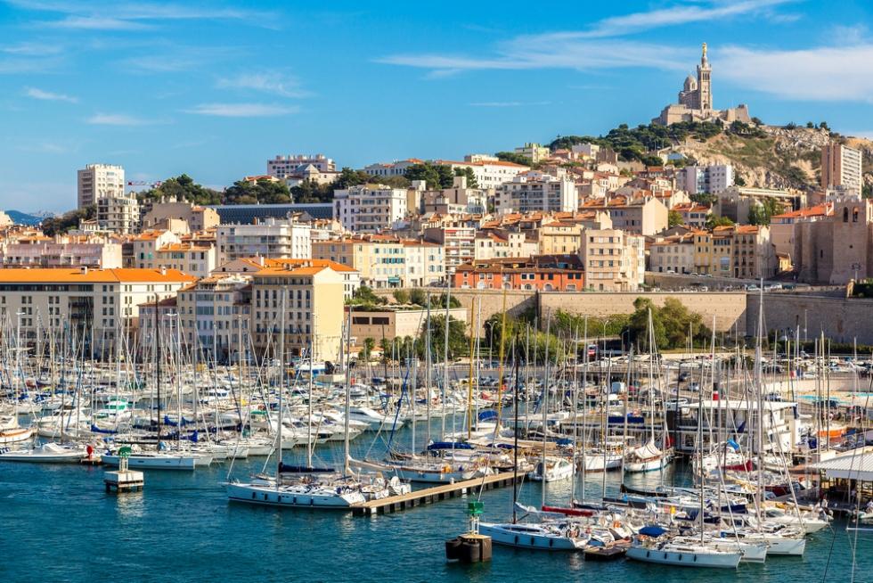 Du lịch Pháp - Marseille