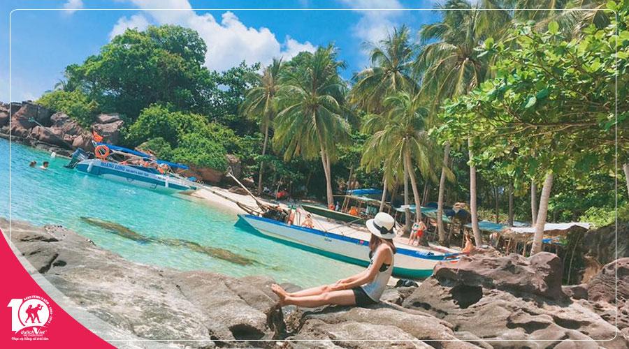 Du lịch Phú Quốc - Hòn Móng Tay - Hòn Mây Rút khởi hành 2018