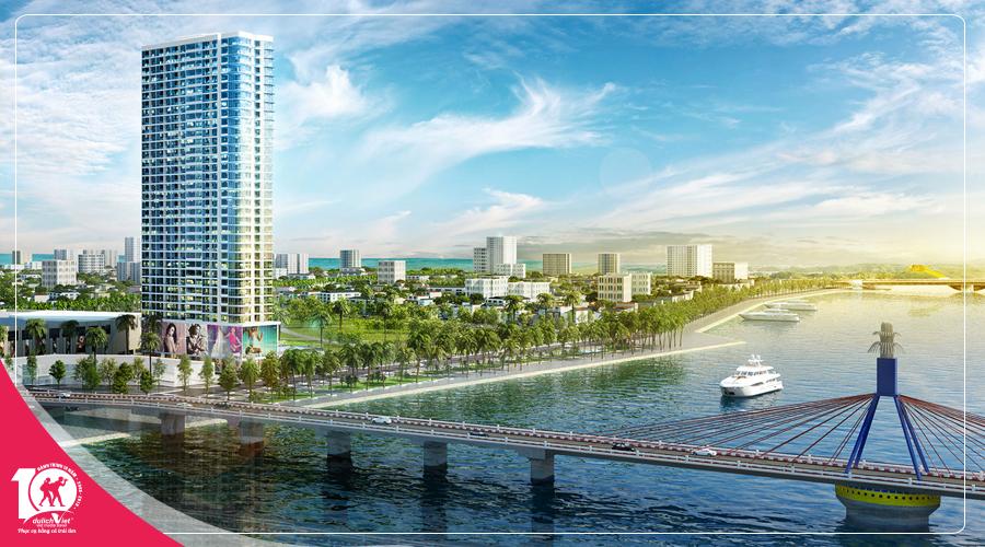 Free and Easy nghỉ dưỡng Vinpearl Condotel Riverfront Đà Nẵng 5 sao