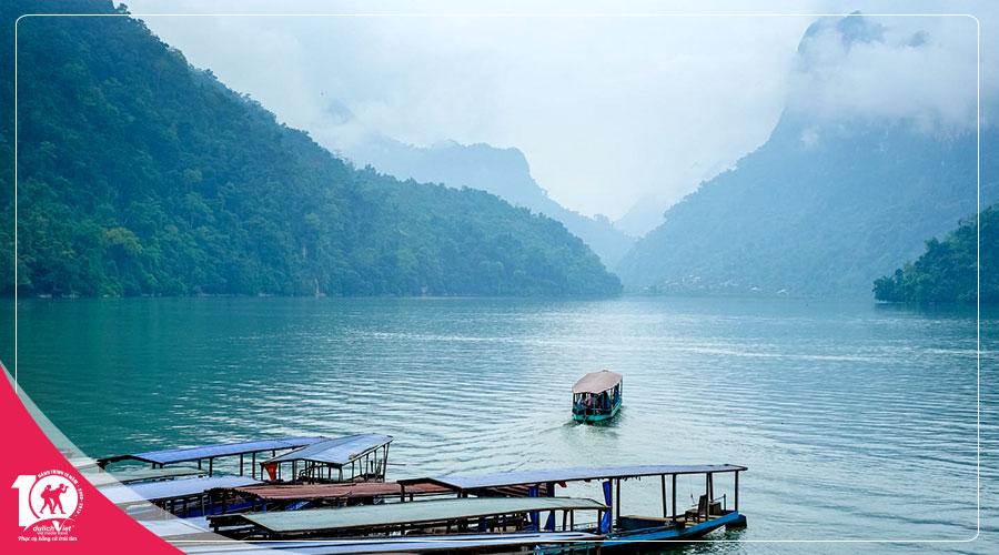 Du lịch Miền Bắc - Hà Nội - Bắc Kạn - Cao Bằng 5 ngày khuyến mãi Vietnam Airlines