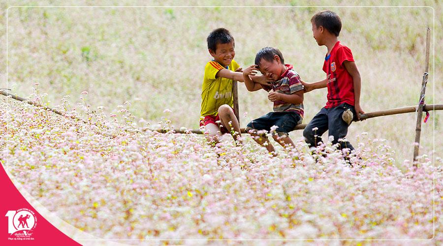 Du lịch Miền Bắc - Hà Giang - Quảng Bạ - Đồng Văn 4 ngày bay Vietnam Airlines