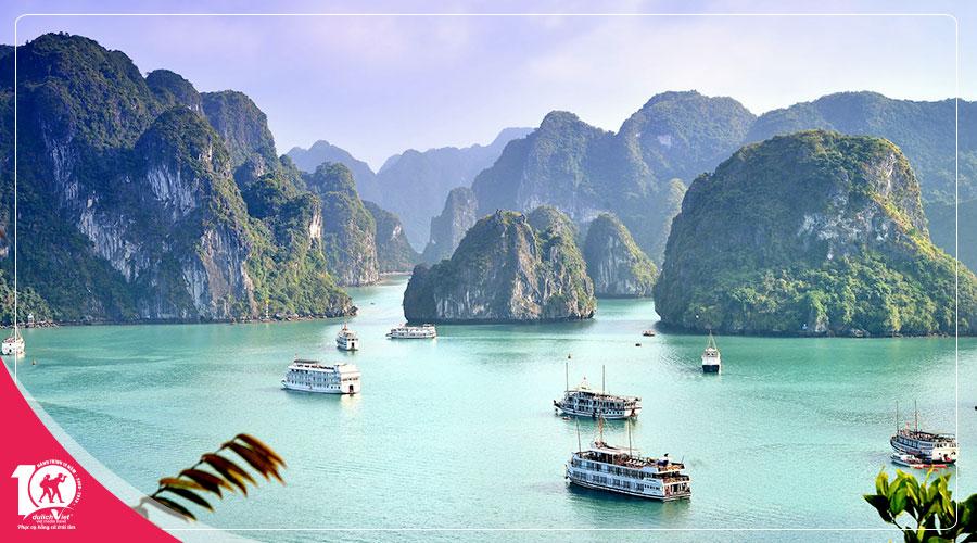 Du Lịch Miền Bắc - Hạ Long - Tràng An khuyến mãi Vietnam Airlines
