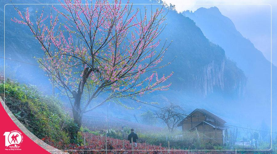 Du lịch Miền Bắc - Đông Bắc - Hà Nội - Hà Giang - Cao Bằng 5 ngày mùa Hoa Đào từ Sài Gòn