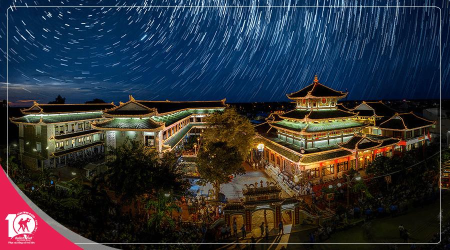 Du lịch Miền Tây - Mỹ Tho - Châu Đốc - Rừng Tràm Trà Sư - Thiên Cấm Sơn từ Sài Gòn