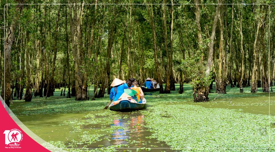 Du lịch Châu Đốc - Rừng Tràm Trà Sư 2 ngày 2 đêm Đi Từ Sài Gòn