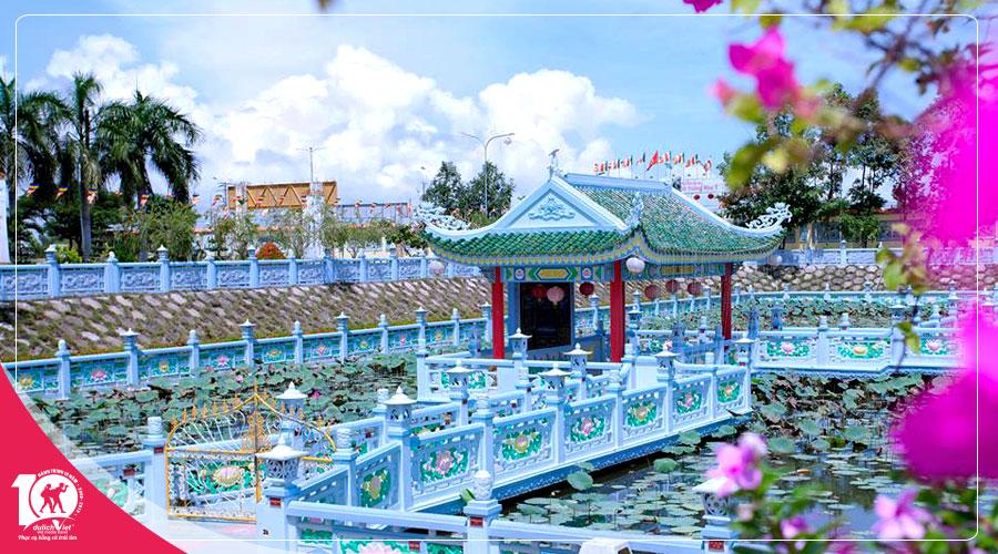 Du lịch Tết dương lịch 2019 Châu Đốc - Rừng Trà Sư 2 ngày 2 đêm