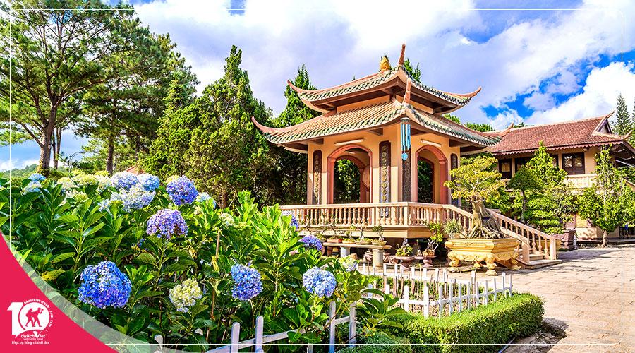 Du lịch Đà Lạt - F cánh đồng hoa 4 ngày dịp Lễ 30/4 từ Sài Gòn