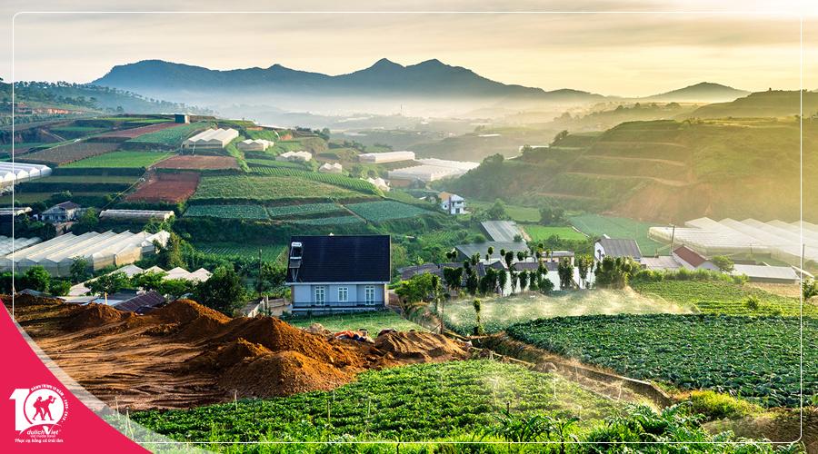 Du lịch Tết Dương Lịch 2019 Đà Lạt 3 ngày khởi hành từ Sài Gòn
