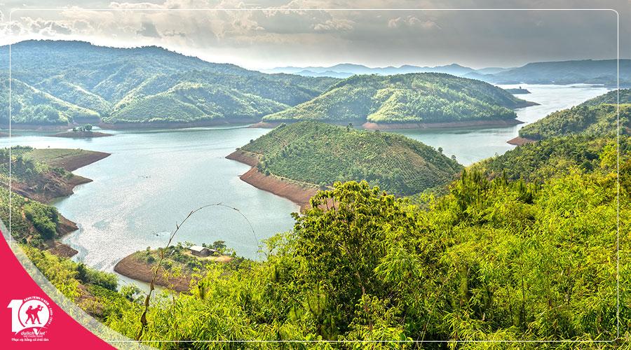 Du Lịch Tây Nguyên, Tour Hồ Tà Đùng - Khu Du Lịch Dambri - Tu Viện Bát Nhã 2 Ngày