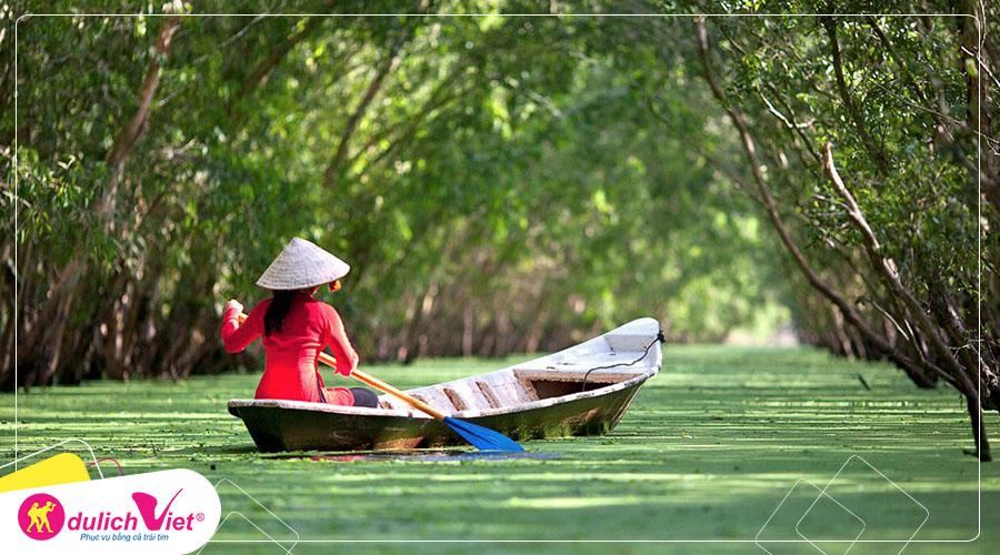 Du lịch Miền Tây - Đảo Bà Lụa - Hà Tiên - Rừng Tràm Trà Sư mùa Thu từ Sài Gòn 2019