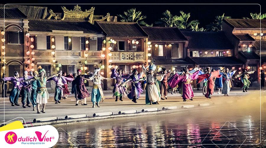 Du lịch Đà Nẵng - Bà Nà - Hội An - Núi Thần Tài - Xem Show Ký Ức Hội An bay Vietnam Airlines