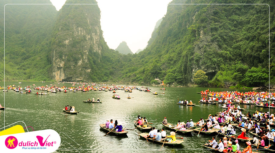 Du lịch Miền Bắc - Quảng Ninh - Tràng An - Bái Đính - Ninh Bình bay Vietnam Airlines từ Sài Gòn