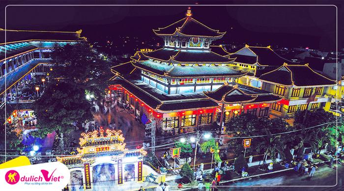 Du lịch Hành Hương Châu Đốc - Miếu Bà Chúa Xứ - Thiên Cấm Sơn từ Sài Gòn