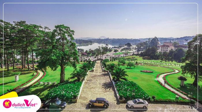 Combo du lịch Đà Lạt Khách Sạn Palace Heritage