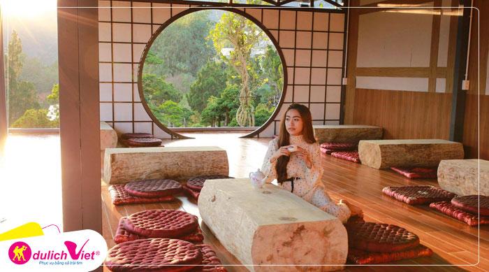 Du lịch Đà Lạt - Thiền Viện Trúc Lâm - QUÊ Garden - Kim Ngân Hills Resort dịp Lễ 30/4 từ Sài Gòn