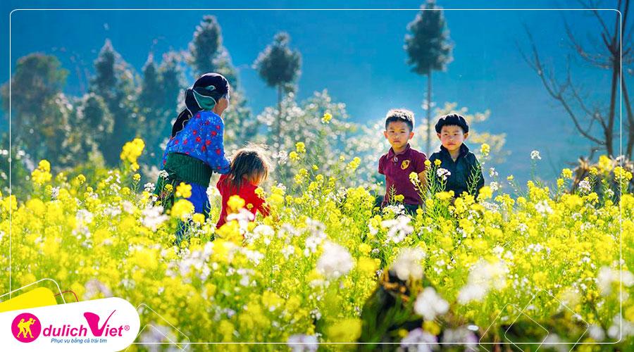 Du lịch Miền Bắc - Hà Giang - Quảng Bạ - Đồng Văn 4 ngày Tết âm lịch 2020 từ Sài Gòn