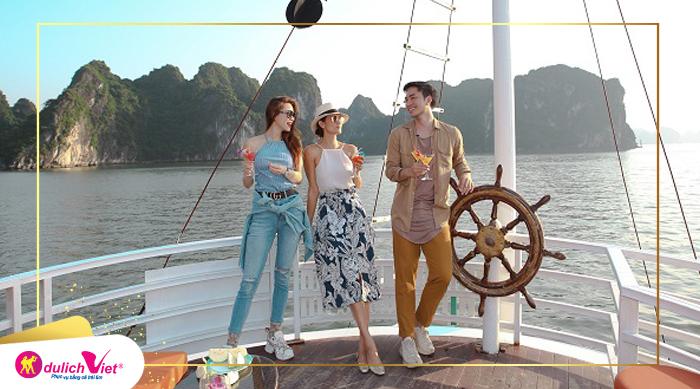 Du lịch Hà Nội - Du Thuyền Vịnh Hạ Long Trải Nghiệm Thủy Phi Cơ từ Sài Gòn