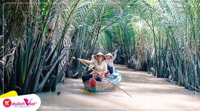Du lịch Hè - Tour Du lịch Mỹ Tho - Cồn Phụng - Cần Thơ - Thiền Viện Trúc Lâm từ Sài Gòn