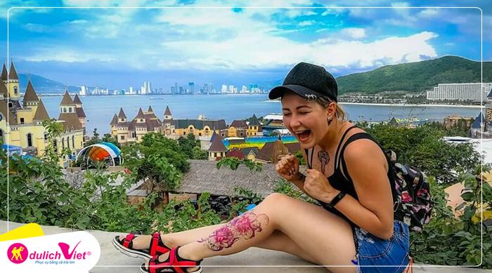 Du lịch Nha Trang - Tháp Bà Ponagar - Chùa Long Sơn - Vinpearl Land dịp Lễ 30/4 từ Sài Gòn