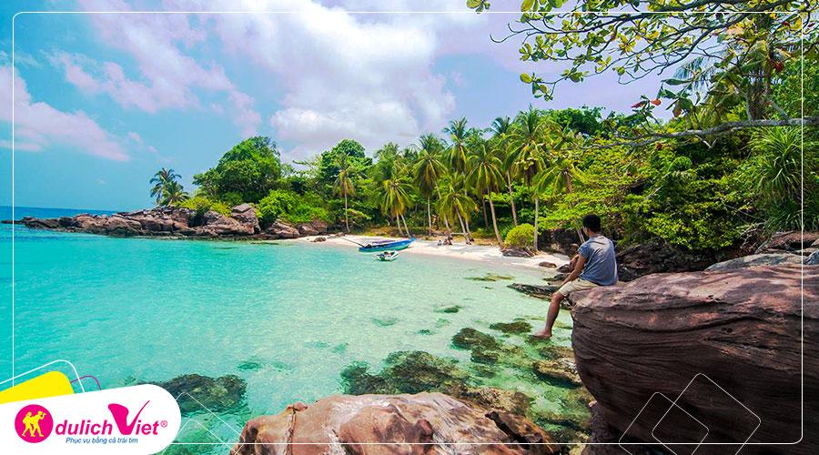 Du lịch Phú Quốc - Vinpearl Land - Safari - Du ngoạn cano 4 đảo từ Sài Gòn giá HOT