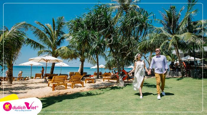 Combo Phú Quốc Khách Sạn Sunset Beach Tặng Tour 3 Đảo