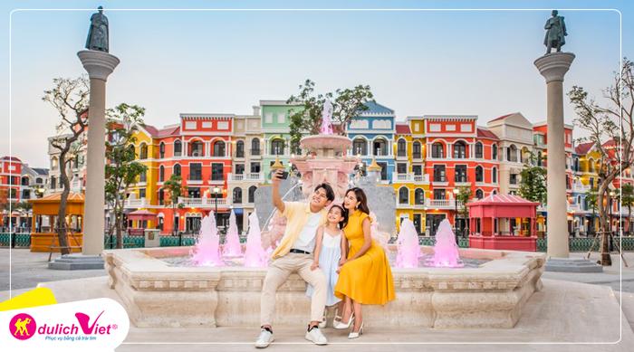 Du lịch Hè - Tour Du lịch Phú Quốc - Grand World - Checkin Dòng Sông Venice - Vinwonders từ Sài Gòn