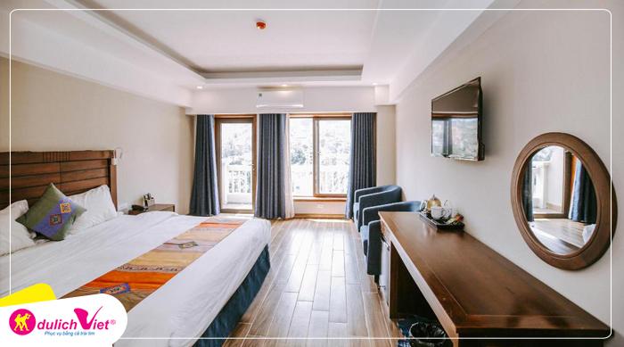 Combo du lịch Sapa Khách sạn Sapa Charm
