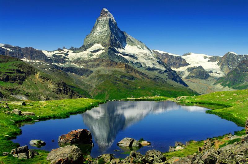 Ngọn núi Matterhorn, đỉnh núi cao nhất Thụy Sĩ