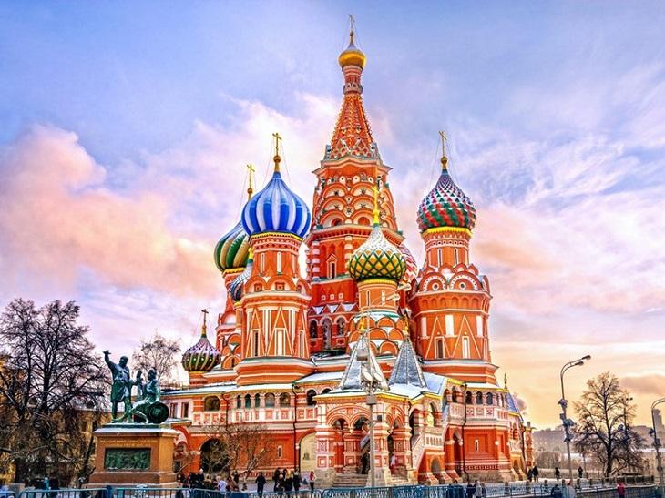Du lịch Nga - Nhà thờ thánh Basil