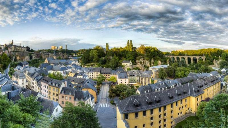Phố cổ ở Luxembourg