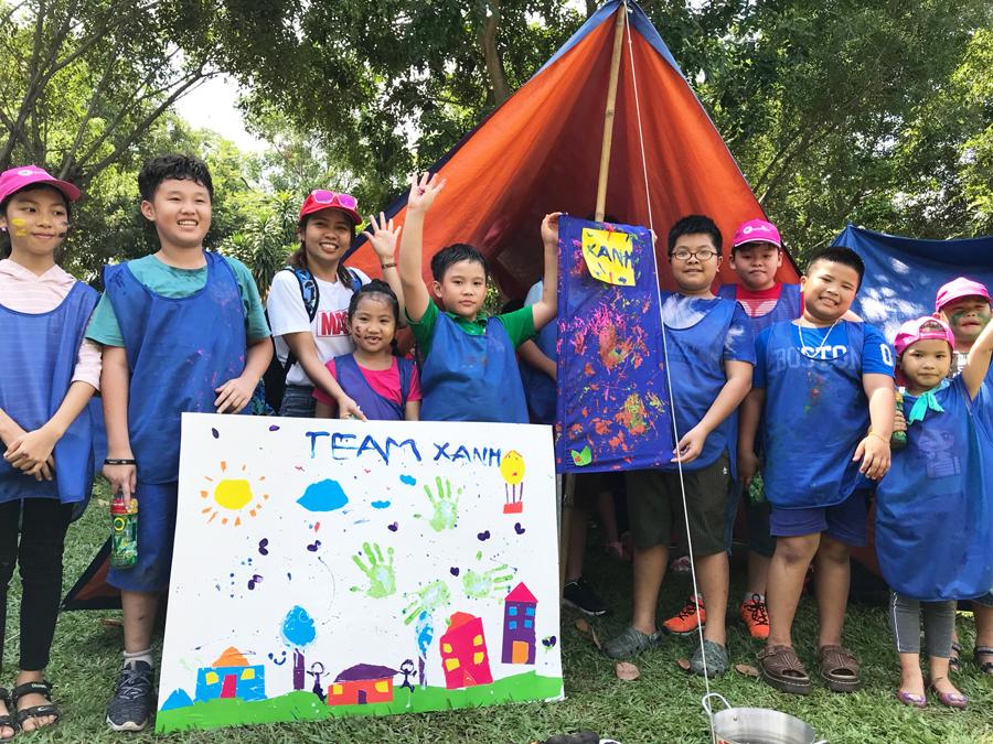 Du Lịch Việt tổ chức thành công trại hè Truy tìm kho báu