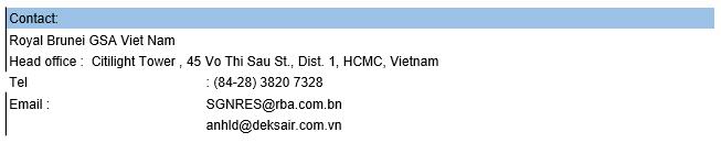 Royal Brunei Airlines triển khai chương trình khuyến mãi cho các tuyến đường bay