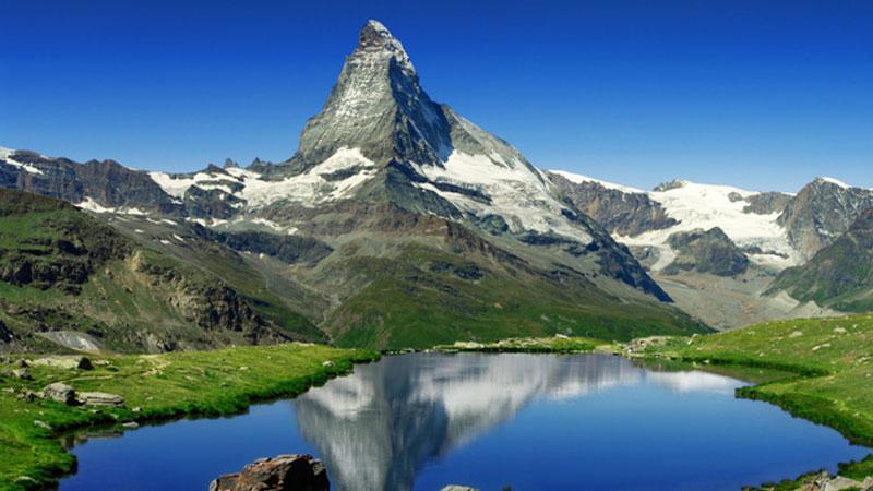 Dãy núi Alps có khung cảnh thiên nhiên hữu tình
