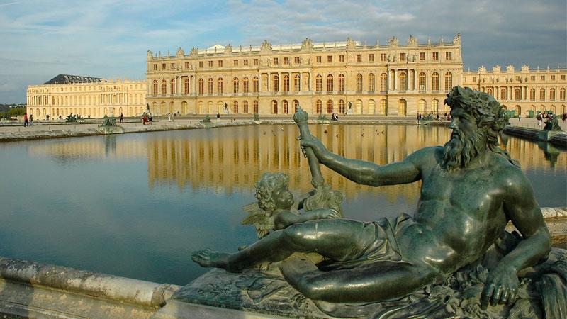 Lâu đài Versailles một công trình kiến trúc đồ sộ