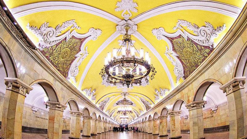 Metro tour – cung điện dưới lòng đất, cho du khách những bức hình check-in siêu xinh