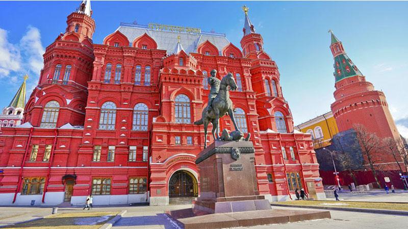 Quảng trường đỏ lộng lẫy và nguy nga chứa đựng giá trị văn hóa – lịch sử