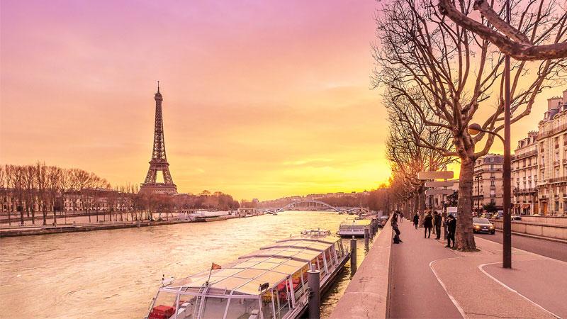 Chiều dài của sông Seine đạt 770km