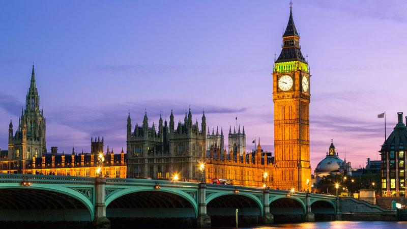 Tháp Big Ben - Du Lịch Anh