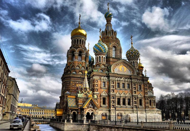Tour du lịch Nga tham quan nhà thờ Thánh Basil