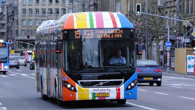 Phương tiện công cộng tại Luxembourg rất hiện đại và tiện nghi, thuận tiện cho việc di chuyển trong thành phố