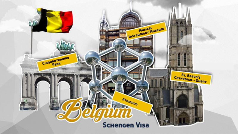 Cách xin Visa Du lịch Bỉ