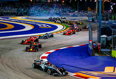 Free and Easy - Vé Singapore Grand Prix - Vé Grandstand 3 ngày