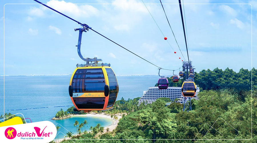 Free and Easy - Combo Cáp treo Singapore Cable Car và Garden By The Bay