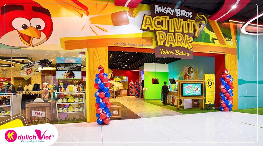Free and Easy - Vé tham quan công viên Angry Birds