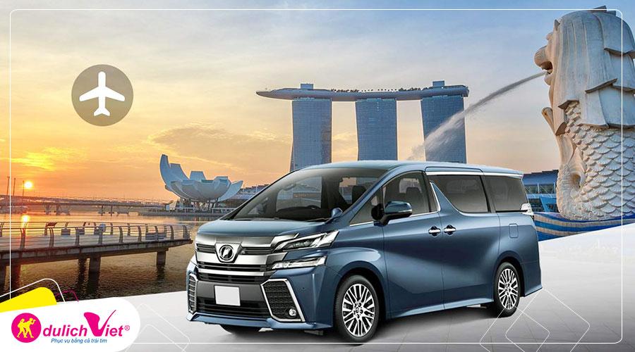 Free and Easy - Dịch vụ đưa đón từ sân bay Changi bằng xe riêng