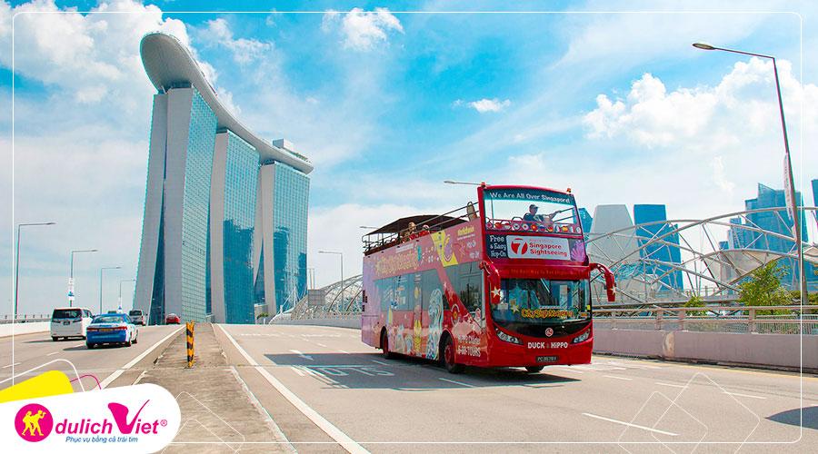 Free and Easy - Vé tham quan Singapore Hop-on Hop-off
