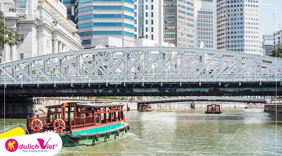 Free and Easy - Du ngoạn trên sông Singapore bằng tàu Water B
